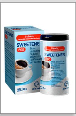 Sweetener zaslađivač 600 tbl