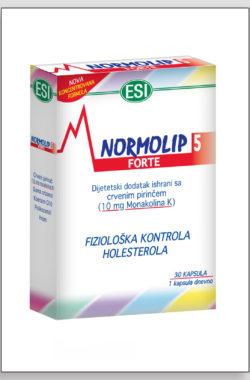 NORMOLIP 5 forte tablete