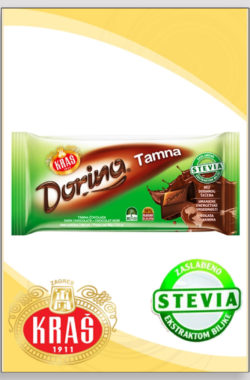 DORINA STEVIA tamna čokolada