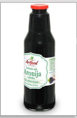 ARTFOOD ARONIJA i JABUKA voćni nektar sa steviom