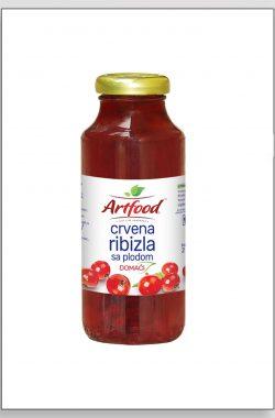 ARTFOOD CRVENA RIBIZLA voćni sok sa plodom