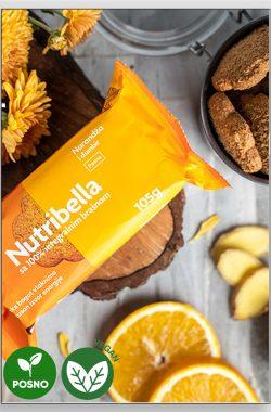 NUTRIBELLA biskvit narandža i đumbir