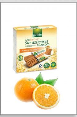 GULLON Keks ovas pomorandža 144g