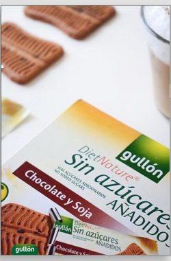 GULLON Keks soja sa čokoladom 144g