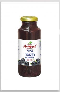 ARTFOOD CRNA RIBIZLA voćni sok sa plodom