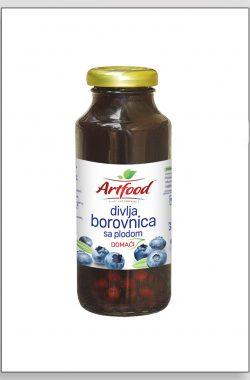 ARTFOOD DIVLJA BOROVNICA voćni sok sa plodom