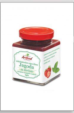 ARTFOOD JAGODA exstra džem sa steviom i fruktozom