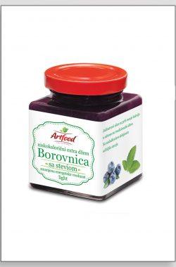 ARTFOOD BOROVNICA exstra džem sa steviom i fruktozom