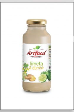 ARTFOOD LIMETA i ĐUMBIR voćni sok